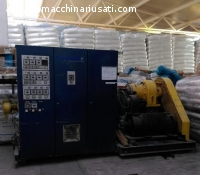 1)	Extrusion line for PE pipes Φ75 – Φ250
