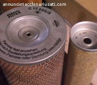 AIR FILTER STOCK for INDUSTRIAL DIESEL ENGINE