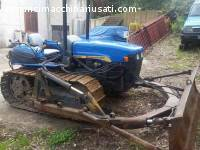 New Holland TK 75M con lama